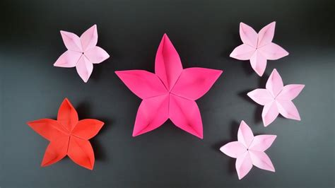 Origami Blossom - origami flower cherry blossom in