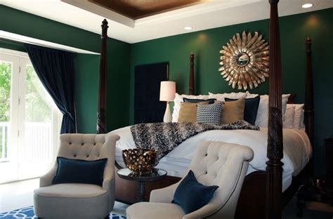 emerald green bedroom emerald green bedroom bedroom transitional with white