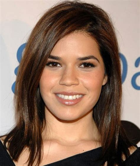 haircuts for round face medium length hair 8 medium haircuts for round faces learn haircuts