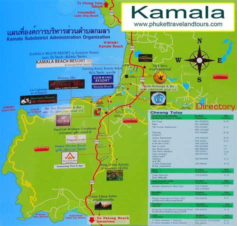 kamala resort map kamala bike hire phuket motorbike rentals
