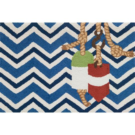 chevron accent rug chevron and buoys accent rug