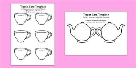 s day teapot card template teapot s day card blank translation