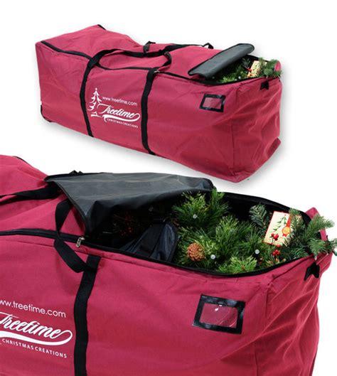 treetime christmas tree rolling duffel bag treetime