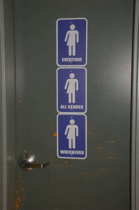 gender neutral bathrooms in schools gender neutral bathrooms created at area schools news