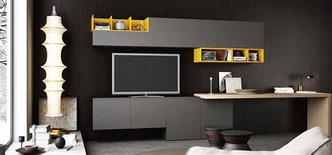 scrivanie attrezzate librerie pareti attrezzate multifunzione cose di casa