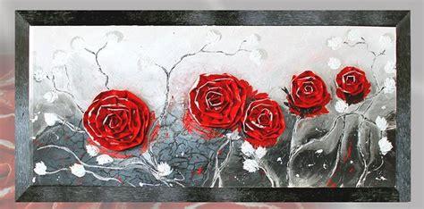 quadri con fiori in rilievo quadri floreali dipinto a mano con fiori in rilievo
