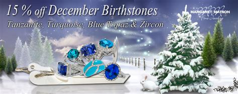 dec birthstone color december birthstones tanzanite turquoise blue zircon