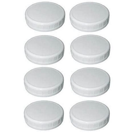 Plastic Jar Storage Caps Per Box Isi 8 Pcs Regular 37010 wide canning jar plastic storage caps canning jars lids and accessories