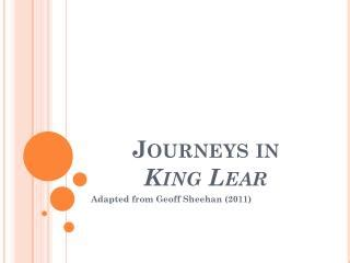 themes in king lear ppt ppt 5th grade journeys powerpoint presentation id 2314980