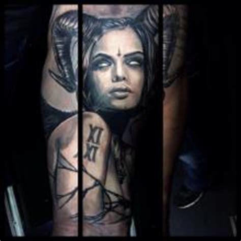 black and grey demon tattoos ben hamill black and grey tattoo big tattoo planet