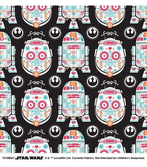 Joann Home Decor Fabric by Star Wars Character Sugar Skulls Cotton Fabric Joann