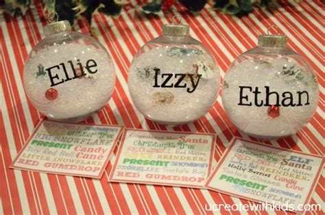Baby Shower Crafts Pinterest by Diy I Spy Christmas Ornament U Create