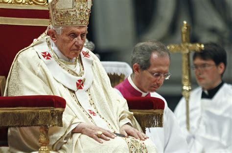 Pope Benedict Resignation Letter by Pope Benedict Xvi Facts Holy Turns 85 In April