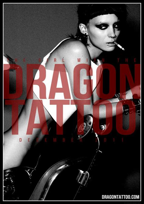 rooney mara dragon tattoo 78 best the with the images on