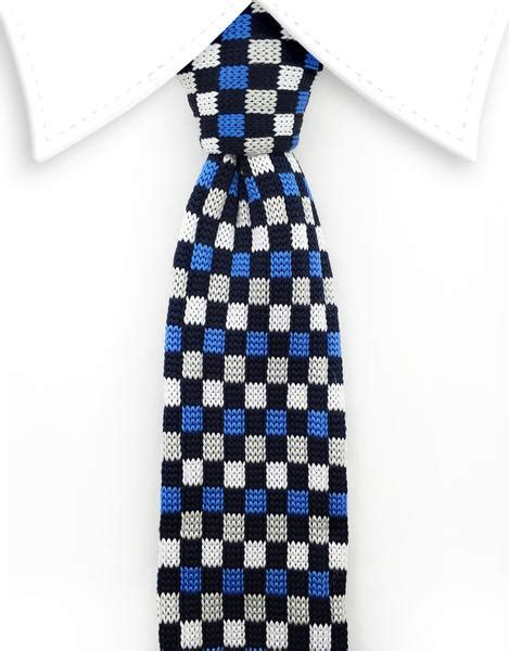 best knot for a knit tie blue black white gray narrow knitted tie gentlemanjoe