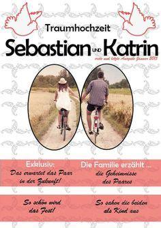 Zeitung Hochzeit by 169 Druckeselbst Vorlage Hochzeitszeitung Hochzeit F S