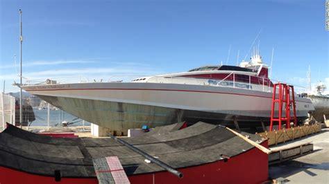 boat yard in spanish richard branson s atlantic virgin challenger ii returns to