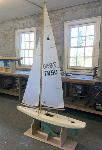 Build Your Own Plank Constructed Pond Yacht