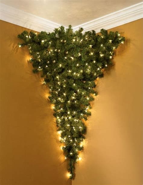 corner christmas tree awesome tree designs collection let follow the ideas