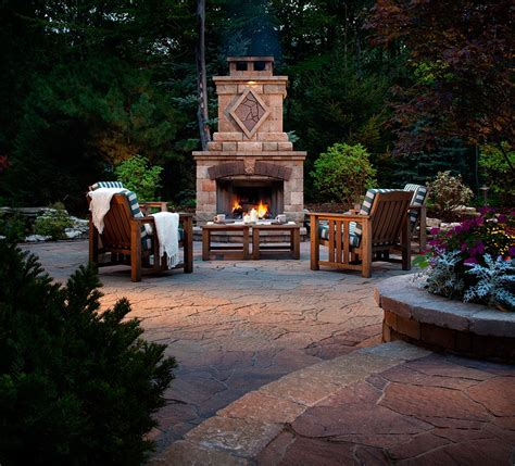 belgard outdoor fireplace kits hardscape ideas hardscape pictures for patio design