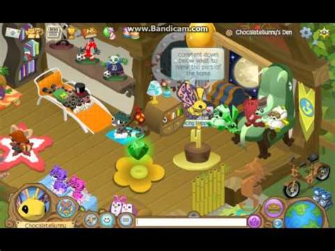 animal jam home tour