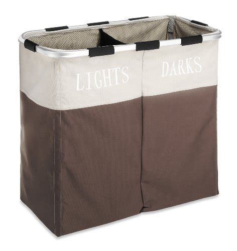 lights and darks laundry new whitmor double laundry lights darks basket her