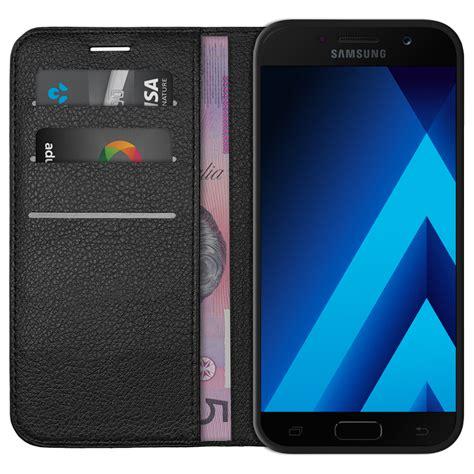 Terbaru Casing Flip Wallet Leather Samsung Galaxy A5 2017 leather wallet for samsung galaxy a5 2017 black