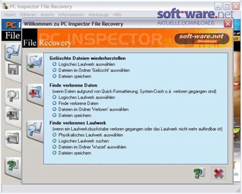 pc inspector file recovery 4 0 windows