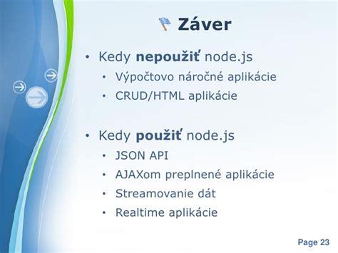 node js tutorial ppt node js rubyslava
