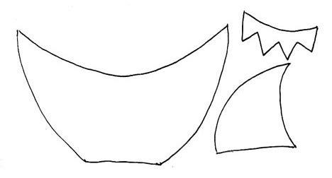 Best Photos Of Free Printable Shark Template Shark Template Cut Out Shark Template And Shark Great White Shark Template