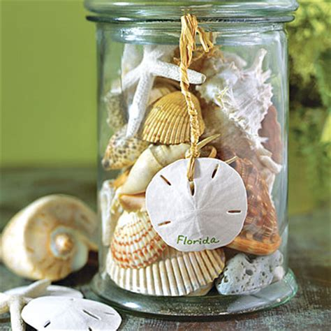 decorate your home with seashells and seashell crafts from your vacation interior and decor ideas