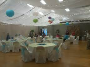 wedding ceiling decorations creative wedding and decor fabric ceiling before and after