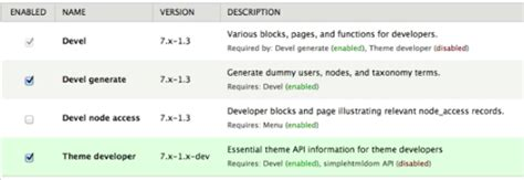 drupal template development using the drupal theme developer module drupal sun