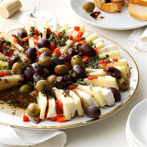 marinated olive cheese ring recipe taste of home