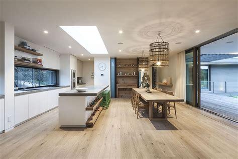 living kitchen design kitchen living space patio doors foam road fingal