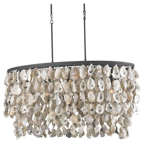 Oyster Chandelier Oyster Shell Chandelier Diy Home Design Ideas