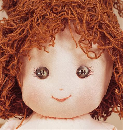 rag doll hair pattern vogue 7418 18 quot rag doll sewing pattern ebay