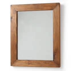 Framed Mirror Bathroom Old Wood Framed Mirrors By Horsfall Amp Wright