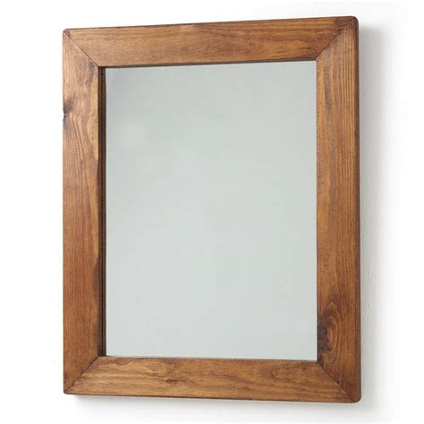 Wood Framed by Wood Framed Mirrors By Horsfall Wright Notonthehighstreet