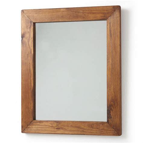 wood bathroom mirrors wood framed mirrors for bathroom decorative bathroom