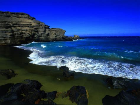beautiful images green sand beach beautiful images hawaii