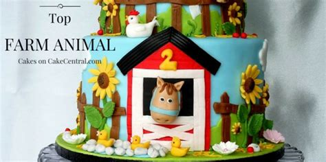 Home Decorating Forum Top Farm Animal Cakes Cakecentral Com