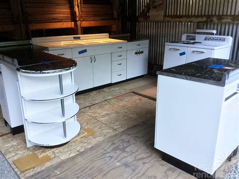 youngstown steel kitchen boxed up for 67 years and now set free brand new 1948