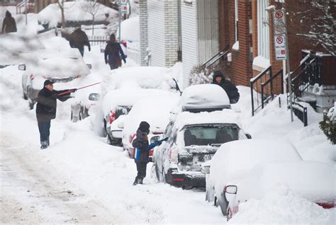 fotos montreal invierno en fotos montreal completamente cubierta de nieve nm