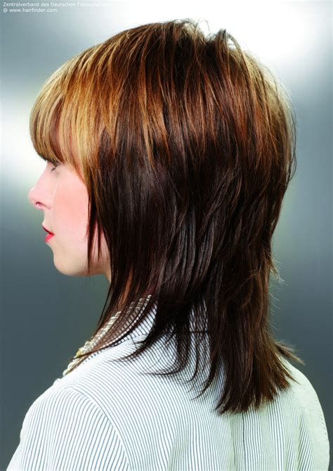 medium layered haircuts back view search results for layered shoulder length hair pics back