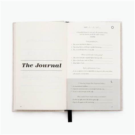 Five Minute Journal Template Free Resume Templates 5 Minute Journal Template