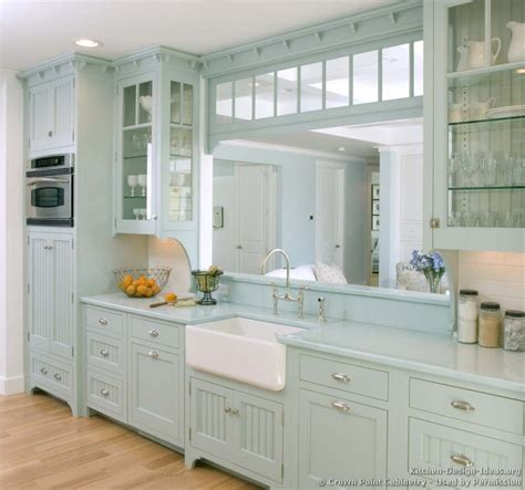 Blue Kitchen Decorating Ideas by Blue Kitchen Cabinets