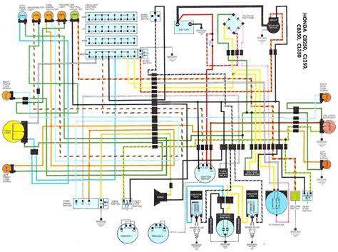 1972 honda cb350 wiring diagram 1972 honda cb350 wiring diagram dejual