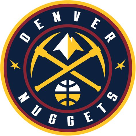 Baju Denver Nuggets Nba Team denver nuggets primary logo national basketball