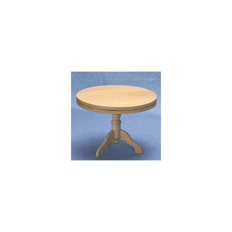 pedestal kitchen table oak dollhouse dining room table